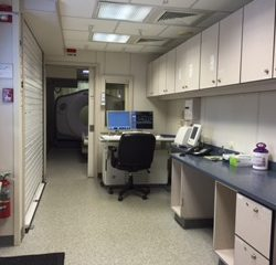 GE 64-Slice CT Mobile Unit | Mobile Imaging Equipment | TICI