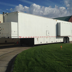GE 16-Slice CT Mobile Unit | Mobile CT System | TICI