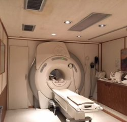 GE 12x MRI, 8 Channel | Mobile MRI Unit | TICI